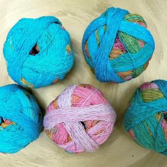 Zauberball-Cotton Sunnyside | Schoppel Wolle | Bio-Baumwolle | © Die Maschen zum Glück