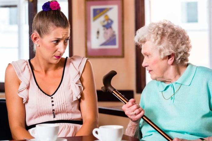 Bei einer Demenz können binnen Sekunden Wutausbrüche zum Vorschein kommen