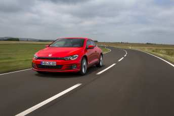 VOLKSWAGEN SCIROCCO 2.0 TDI FLASH RED