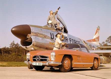 Mercedes-Benz Typ 300 SL Roadster (W 198 II, 1957 bis 1963), 1960. ; Mercedes-Benz 300 SL Roadster (W 198 II, 1957 to 1963), 1960.;