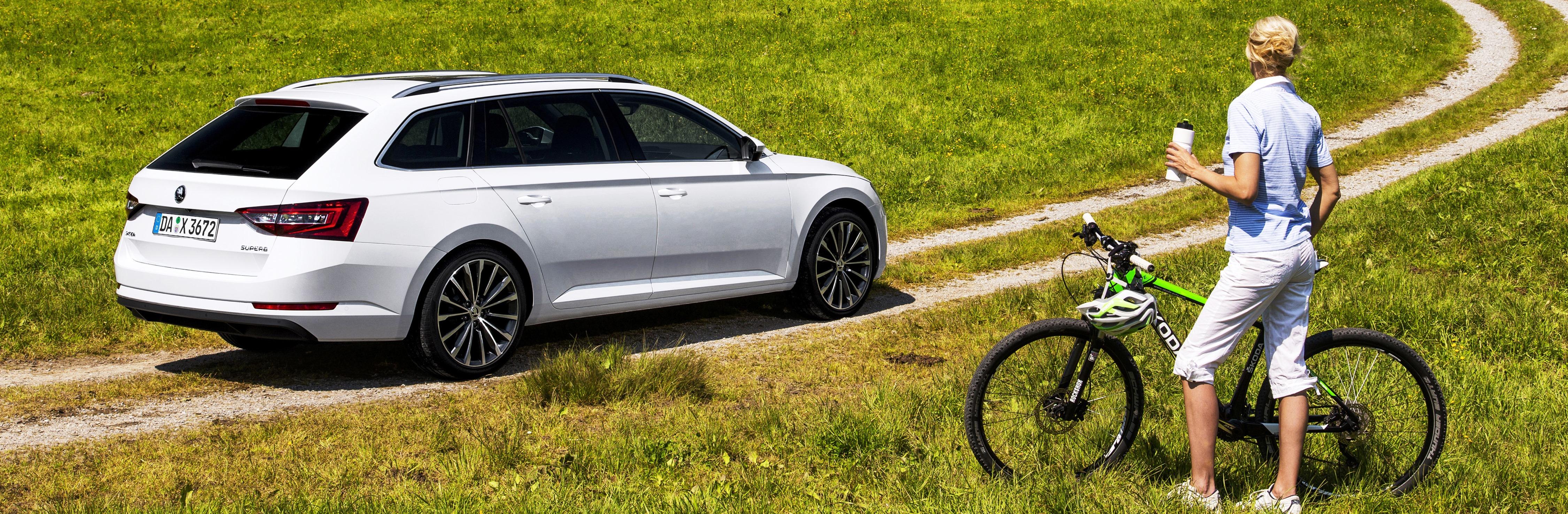 Clever laden – der Skoda Superb bi – Die Testfahrer Automagazin