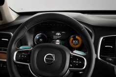 HMI countdown in Volvo's XC90 Drive Me car