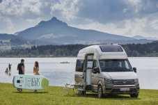 Großer Bruder des Bulli mit Reisemobil-Ausstattung: die Studie VW California XXL. © VWN
