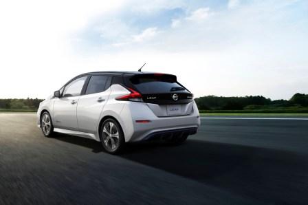 Mehr Reichweite: Mit einer Ladung soll der Leaf jetzt je nach Ausführung 380 bis 500 Kilometer weit kommen. © Nissan