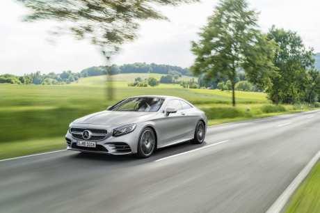 Mercedes-Benz S-Klasse Coupé; C 217; Exterieur: designo allanitgrau magno Mercedes-Benz S-Class Coupé; C 217; Exterior: designo allanite grey magno