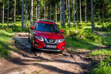 Der Nissan X-Trail ist auch eine Geländespezialist
