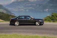 Zum Test tritt der S450 4Matic mit 367 PS starkem Sechzylinder an. © Daimler