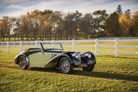 Bugatti Type 57 S Cabriolet (1937) für 7,7 Millionen Dollar (6,551 Mio. Euro).Foto: Auto-Medienportal.Net/Sotheby's/Darin Schnabel