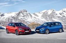 Der überarbeitete BMW 2er Active (links) und Gran Tourer steht ab März 2018 beim Händler. © BMW