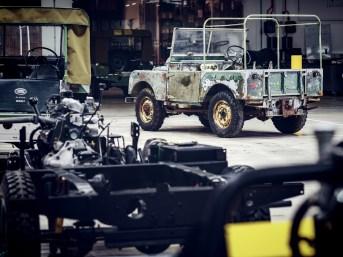 Über viele Jahre war der Verbleib des Land Rover mit dem Kürzel L07 ein Rätsel. Foto: Auto-Medienportal.Net/Land Rover
