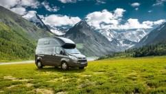 Mit dem Nugget Plus präsentiert Ford auf der Stuttgarter CMT (13.–21.1.2018) erstmals eine Langversion seines Campingbus-Klassikers. Foto: Ford/Westfalia