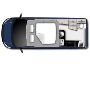 Innen wird das bewährte Nugget-Zweiraumkonzept bei der neuen Version beibehalten, erfährt jedoch mit zusätzlichen gut 36 Zentimeter Innenraumlänge entscheidende funktionale Ergänzungen.