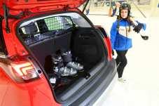 Eine Kunststoffwanne sorgt dafür, dass der Gepäckraum nicht verdreckt wird. Foto: Opel