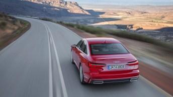 Der neue Audi A6 hat gegenüber dem Vorgängermodell erlebbar an Sportlichkeit gewonnen – insbesondere durch innovative Lösungen beim Fahrwerk. Foto: Audi