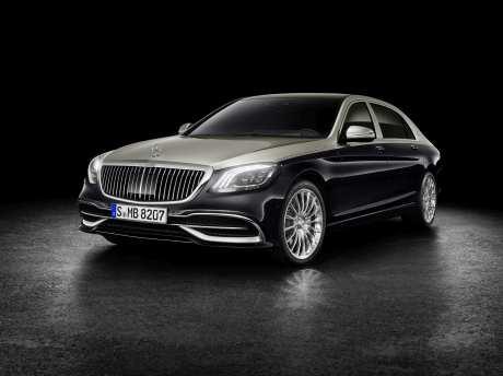 Das neue Gesicht des Mercedes-Maybach S 560. Foto: Auto-Medienportal.Net/Daimler