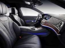 Mercedes-Maybach S-Klasse: Edle Materialien, wohin man auch blickt. Foto: Auto-Medienportal.Net/Daimler