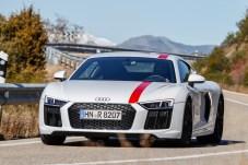 Spaßgerät für Sport-Enthusiasten: Beim R8 RWS hat Audi Sport den Antrieb nach vorne weggelassen. © Audi