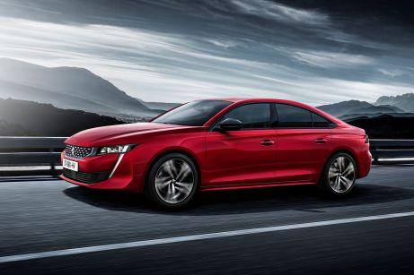 Mit dem neuen 508 will Peugeot wieder kräftig in der Mittelklasse mitmischen. © PSA