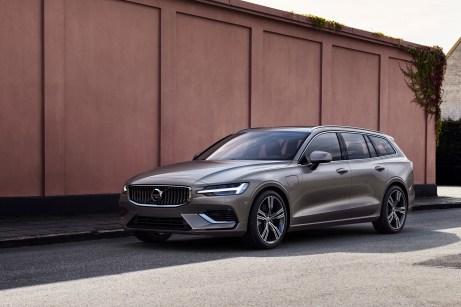 Volvo ist in Genf mit dem gerade erstmals enthüllten V60 präsent. © Volvo