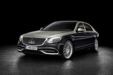 Repräsentativ: Der Maybach bekommt einen imposanteren Kühlergrill und die aktuelle S-Klasse-Technik. © Daimler
