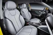 Auf den Vordersitzen sind die Platzverhältnisse sehr großzügig. Foto: Audi
