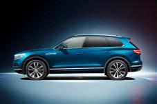 Die Seitenlinie ist eleganter, die Räder sind mindestens 18 Zoll groß. © VW