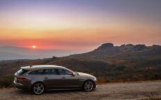 Nobel-Kombi von Jaguar: der XF Sportbrake. Foto: Auto-Medienportal.Net/Jaguar Land Rover