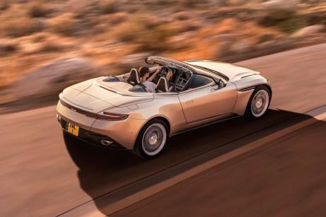 Britischer Sportwagen vom Feinsten - und dann auch noch offen: der Aston Martin Volante. © Aston Martin
