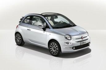 Schnuckelig und im ganz neuen Dress: das Fiat 500 Cabrio Collezione. © FCA