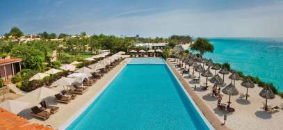 Der Pool des Riu Palace Zanzibar. Foto: TUI