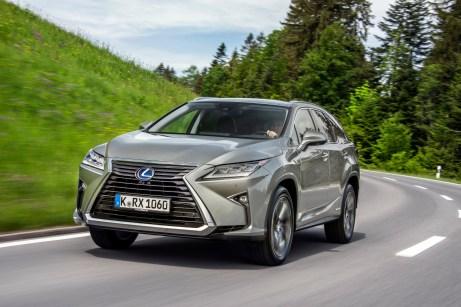 Kantiger Vertreter der Gattung Premium-SUV: der Lexus RX L. © Lexus