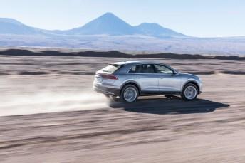 Das Heck unterscheidet sich deutlich von bisherigen Q-Modellen aus Ingolstadt. © Audi