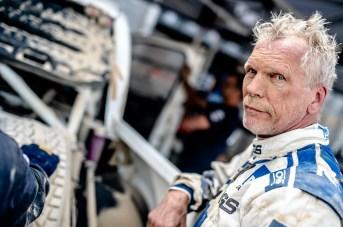 Jürgen Schröder gibt im Rallye-Auto immer alles. Die Familie hat Benzin im Blut. © PS Laser