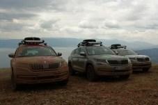 Der Mavrovo Nationalpark in Mazedonien ist einer der ältesten Europas und berühmt für seine rote Erde. Hier ist ein Fahrzeug mit Gelände-Fähigkeiten Pflicht. © Mirko Stepan / mid