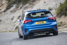Macht auch von hinten eine gute Figur. Der neue Ford Focus. Foto: Ford