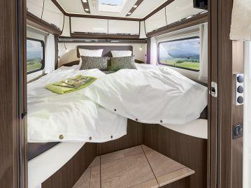 Temperiert wird das Fahrzeug über eine Alde-Warmwasserheizung mit serienmäßiger Fußbodenheizung, Handtuch-Heizkörper und separat regelbarem Heizkreislauf für Schlafzimmer und Garage. Foto: Auto-Medienportal.Net/Morelo