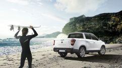 Der Musso kommt in der Basisversion mit Heckantrieb für 23 990 Euro zu den Kunden. Mit dem zuschaltbaren Allradantrieb steigt die Rechnung um 2000 Euro. Foto: Auto-Medienportal.Net/Ssangyong