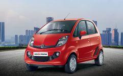 """Der Tata Nano, 2008 als """"One-Lakh""""-Auto präsentiert. Ein Lakh, das sind 100 000 indische Rupien – heute umgerechnet rund 1250 Euro. Foto: Auto-Medienportal.Net/Jens Meiners"""