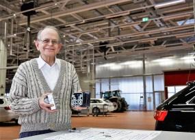 Anton van Zanten gilt als einer der Väter von ABS. Foto: Bosch