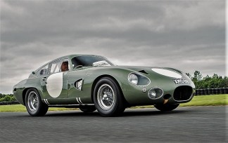 Aston Martin DP 215 Grand Touring Competition Prototype von 1963 mit einem Schätzpreis zwischen 18 Millionen und 22 Millionen Dollar (15,5 Millionen/18,9 Millionen Euro). Foto: Auto-Medienportal.Net/Sotheby's