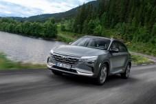 Königsklasse: Wasserstoff-Autos wie der Hyundai Nexo sind das Nonplusultra im Bereich von Fahrzeugen mit alternativen Antrieben. Leider teuer. © Hyundai