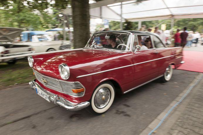 "Opel Rekord P2 Coupé von 1962 (Spitzname ""Rasender Kofferraum""). Foto: Auto-Medienportal.Net/Opel"