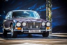 Royaler Glanz an der Rennstrecke: Der Jaguar XJ12 gehörte einst Queen Mum. © Jaguar