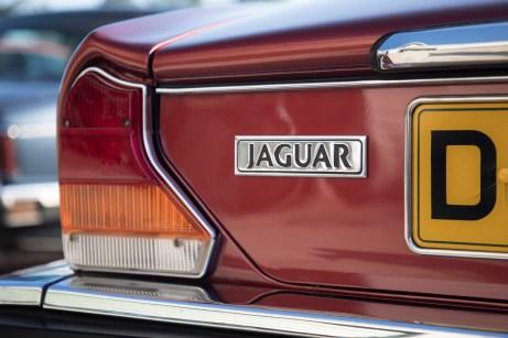 XJ der 80er Jahre: Die größeren gezackten Rückleuchten verändern das Heck-Design des Klassikers. © Jaguar