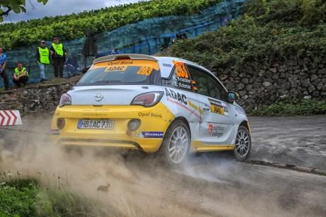Blitz-schnelle Drift-Künstler: Opel kriegt im Rallye-Sport die Kurve. © Opel