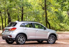 """""""Würden alle Autos beim TÜV so vorfahren, hätten die Prüfer sicher mehr Freizeit"""", schreibt der """"TÜV Report 2018"""" über den Mitsubishi ASX. Foto: Mitsubishi"""