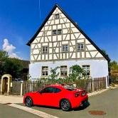 Fränkische Landidylle mit dem Subaru BRZ. Foto: Klaus H. Frank