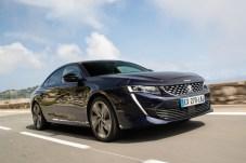 Der Peugeot 508 debütiert 2019 mit Benzin- und Elektroantrieb. © Peugeot