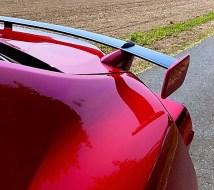 Filigraner Heckspoiler des Subaru BRZ. Foto: Klaus H. Frank