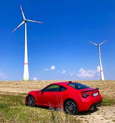 Optisch macht der Subaru BRZ ziemlich viel Wind. Foto: Klaus h. Frank